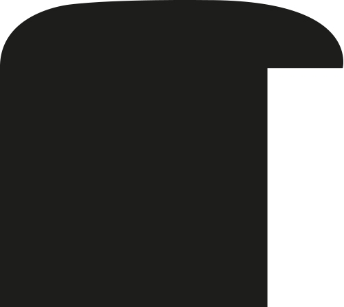 Baguette bois profil méplat largeur 3.7cm couleur bleu nuit satiné effet cube