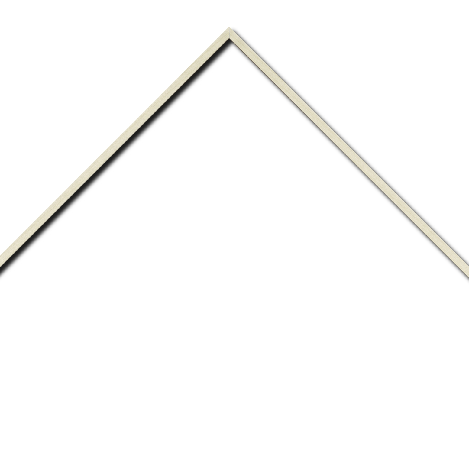 Baguette aluminium profil plat largeur 8mm, placage véritable bouleau ,(le sujet qui sera glissé dans le cadre sera en retrait de 6mm de la face du cadre assurant un effet très contemporain) mise en place du sujet rapide et simple: il faut enlever les ressorts qui permet de pousser le sujet vers l'avant du cadre et ensuite à l'aide d'un tournevis plat dévisser un coté du cadre tenu par une équerre à vis à chaque angle afin de pouvoir glisser le sujet dans celui-ci et ensuite revisser le coté (encadrement livré monté prêt à l'emploi )