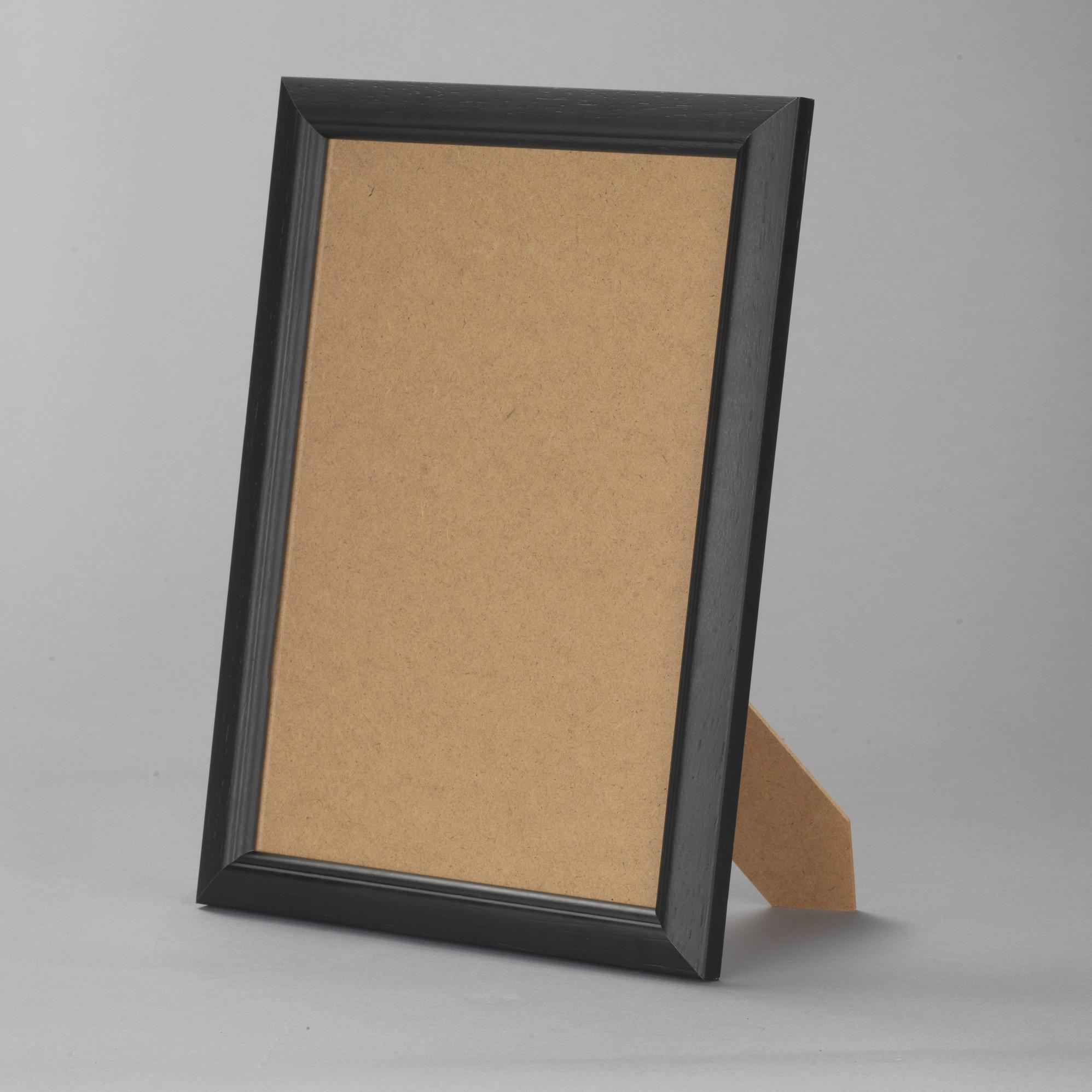 cadre bois noir 13x18 pas cher cadre photo bois noir 13x18 destock cadre. Black Bedroom Furniture Sets. Home Design Ideas