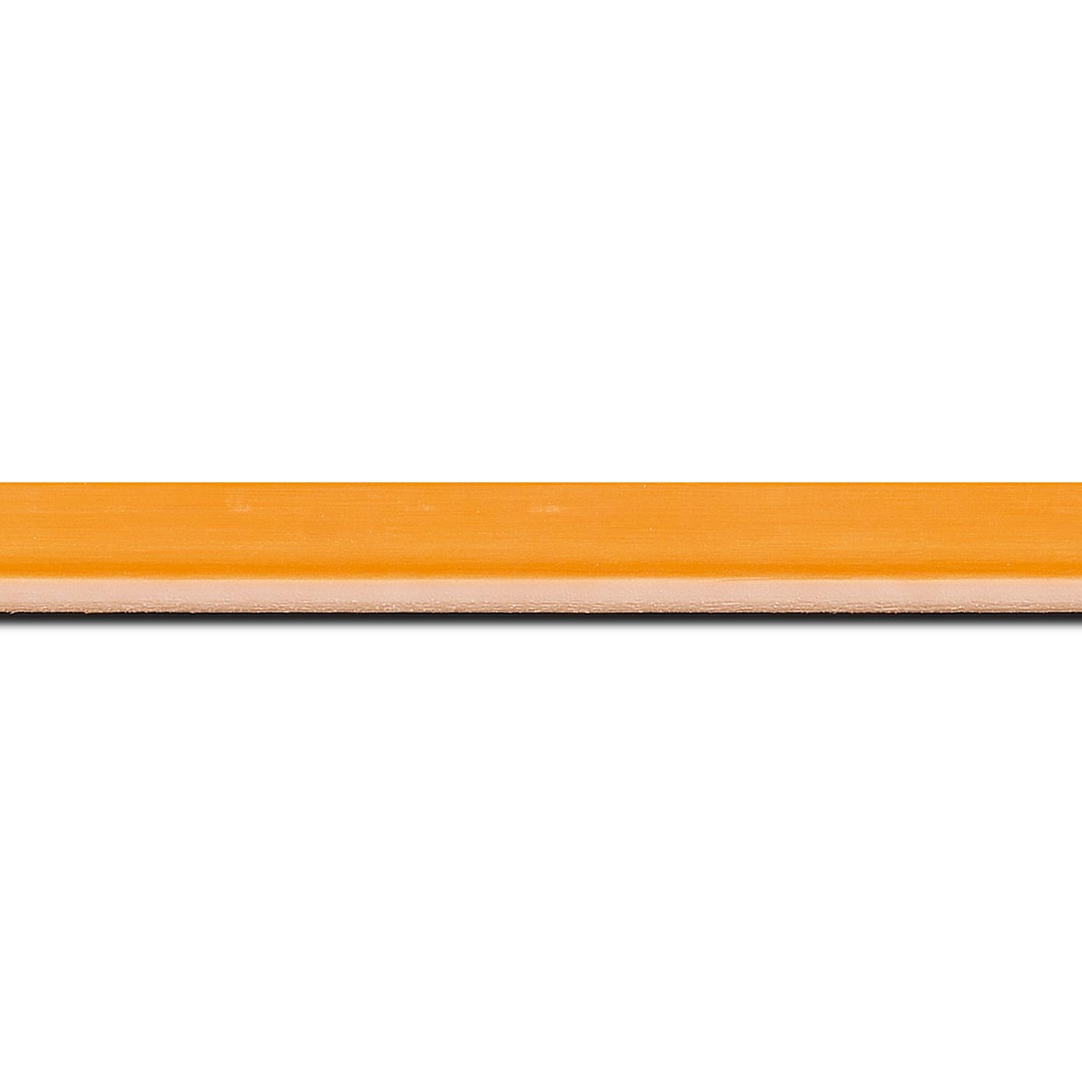 Cadre  bois orange — 15 x 21