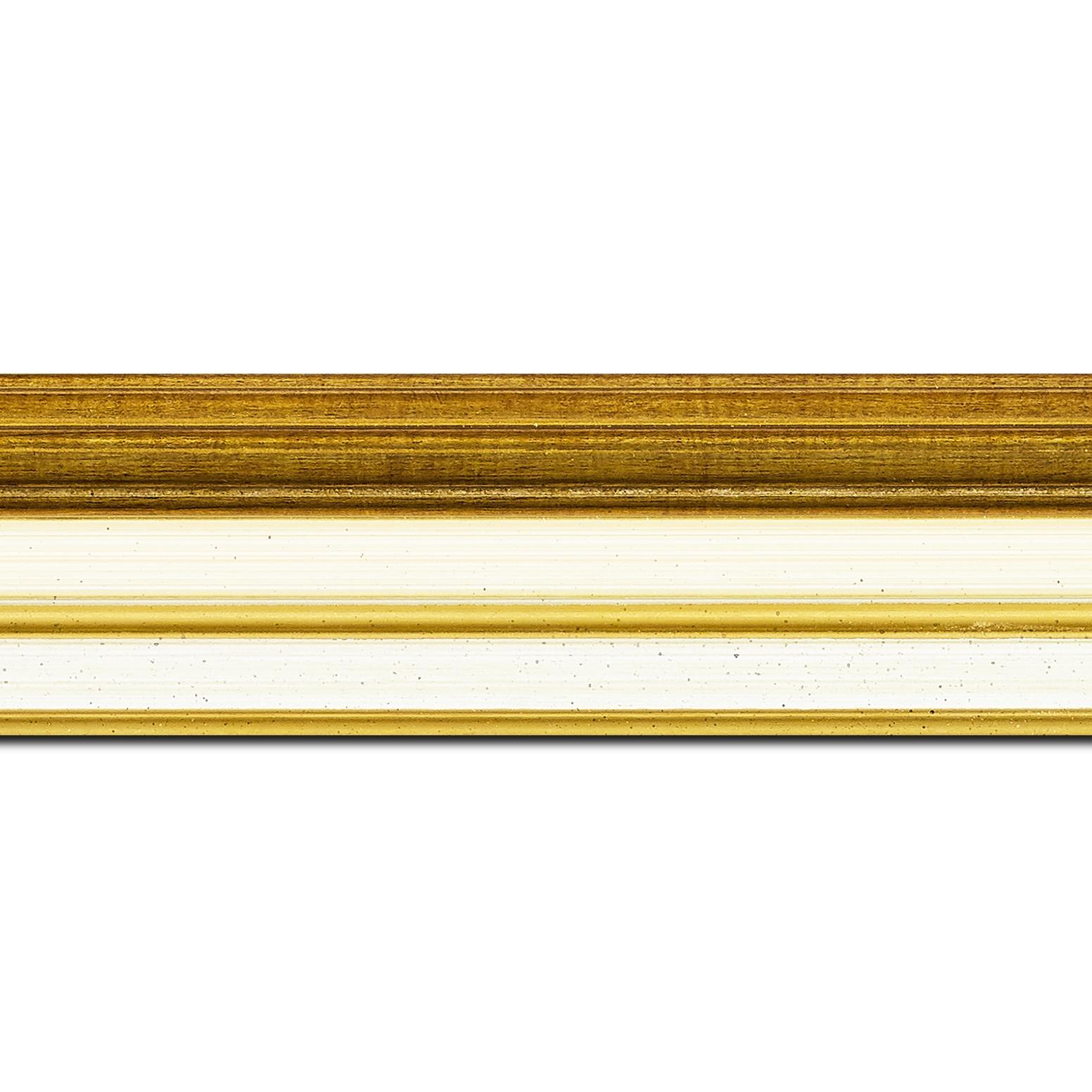 Cadre  pour peinture pour peinture bois creme — 61 x 46