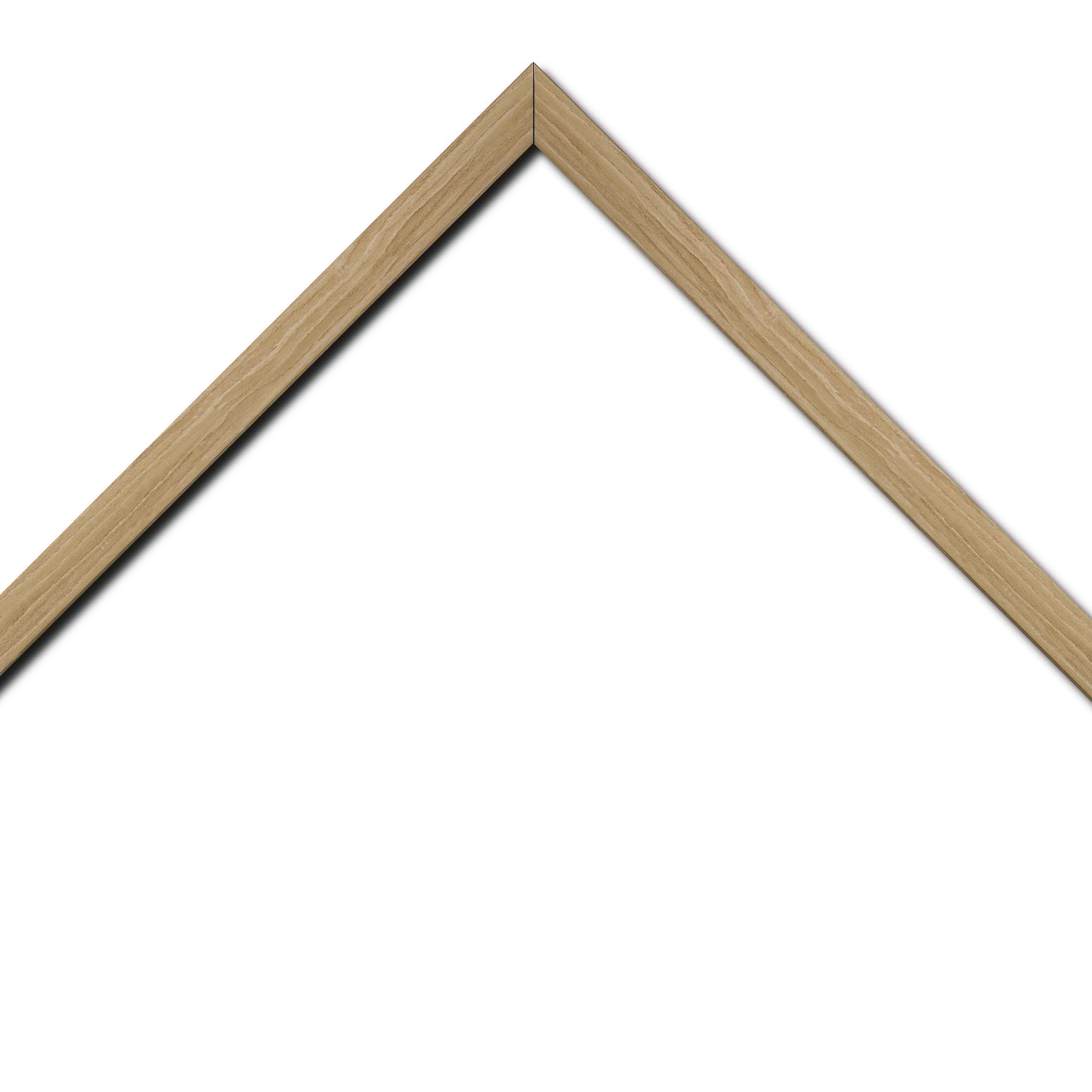 Baguette bois profil plat largeur 2cm décor bois naturel