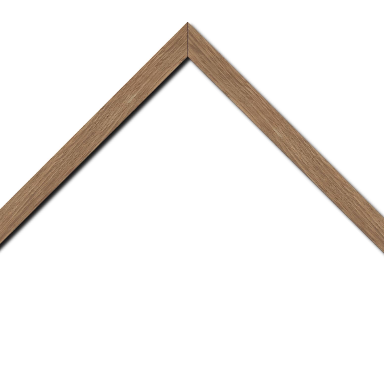 Baguette bois profil plat largeur 2cm hauteur 3cm chêne naturel massif
