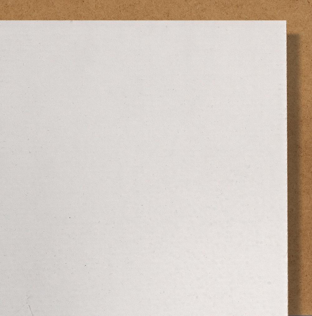 Carton de fond barrière conservation blanc