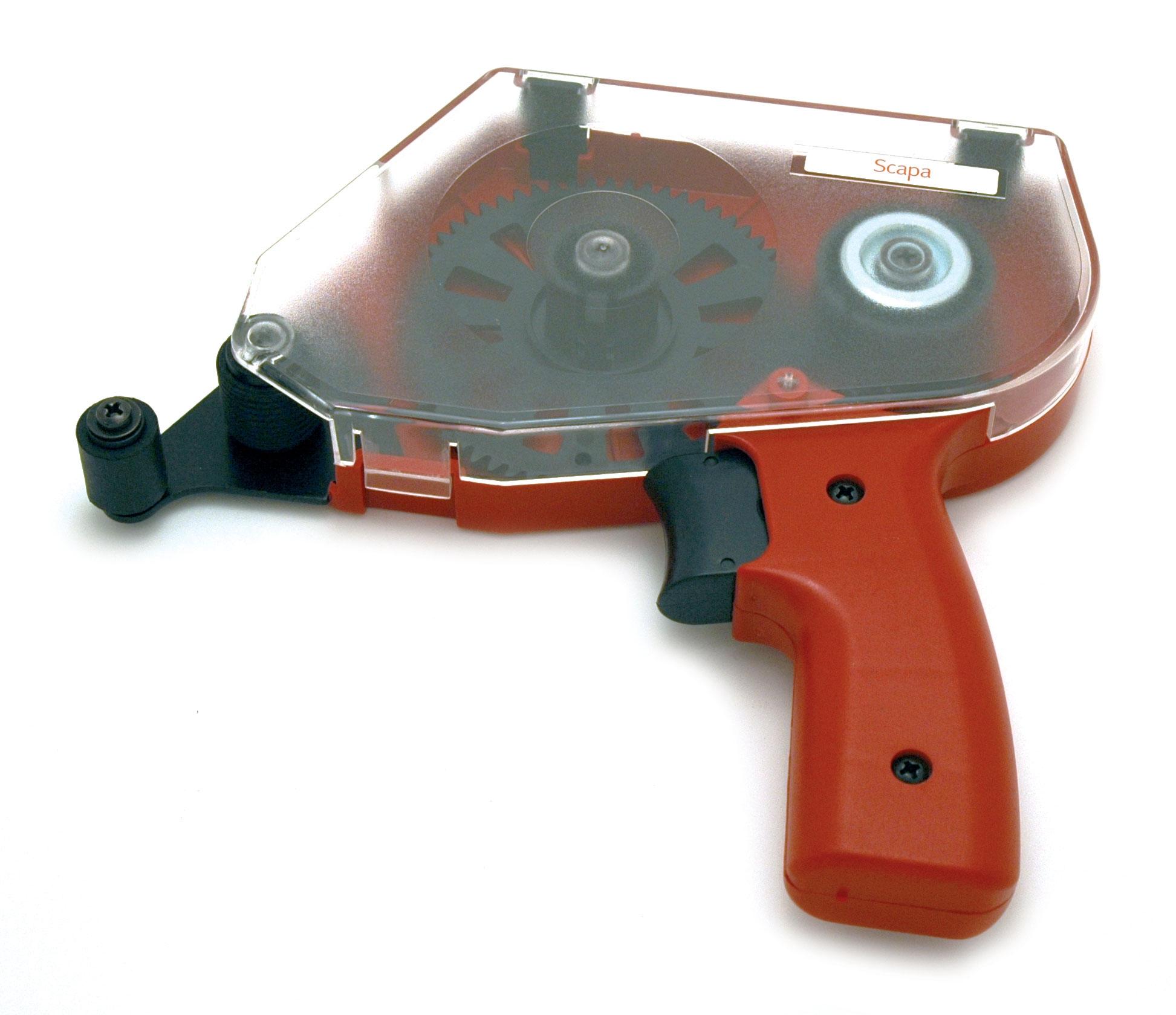 pistolet applicateur pour adhésif transfert portant la référence adh.tra.12. permet de déposer de façon précise le film de colle.