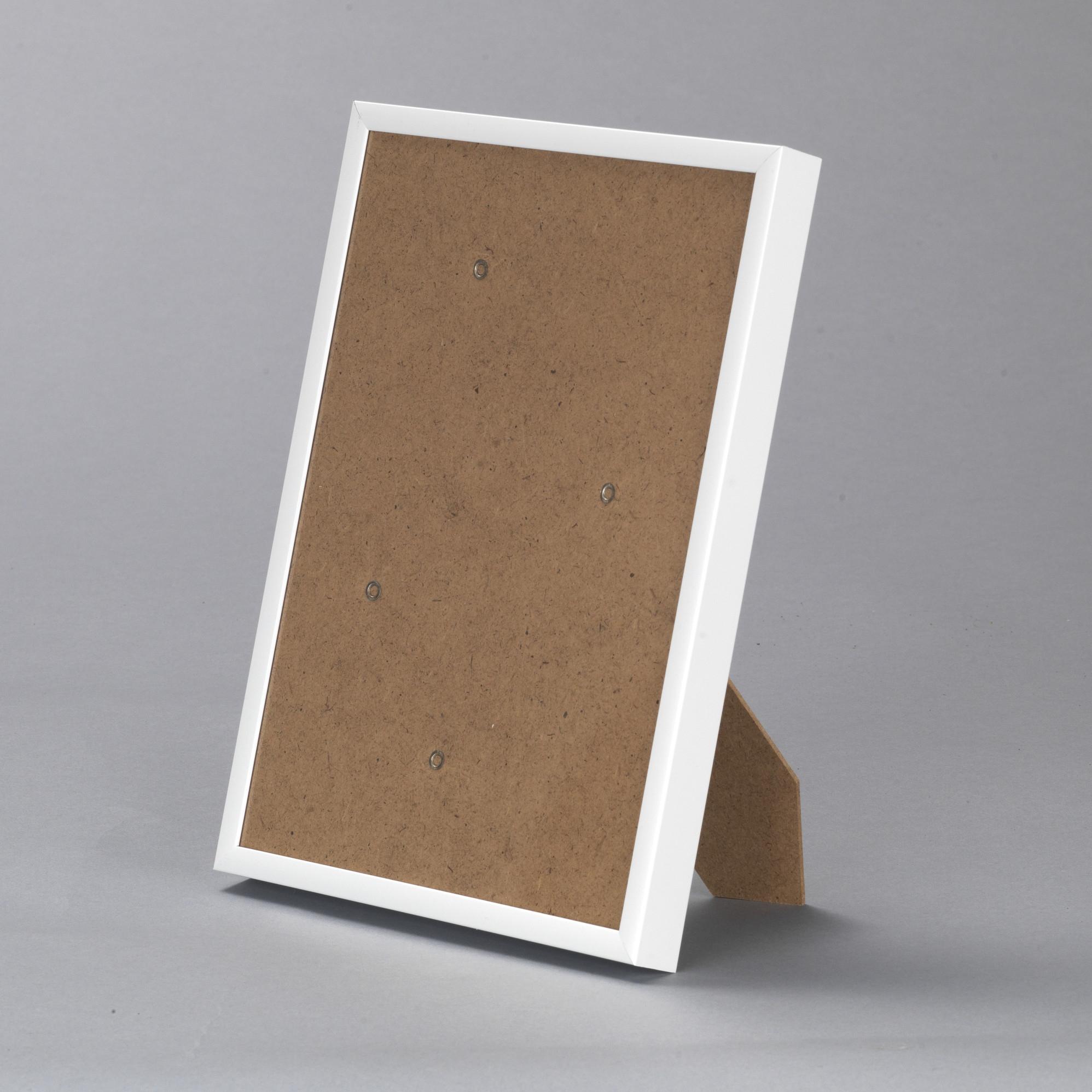 Cadre aluminium blanc — 15 x 21
