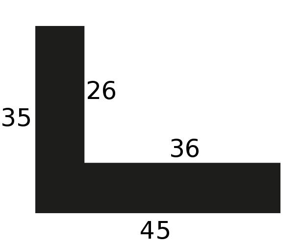 Baguette bois caisse américaine flottante largeur 4.5cm chene massif naturel (spécialement concu pour les chassis d'une épaisseur jusqu'a 2.5cm )