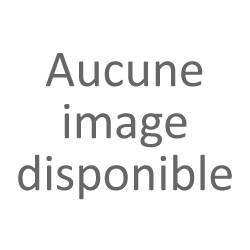 Baguette bois profil arrondi largeur 6.8cm  décor maille argent fond noir