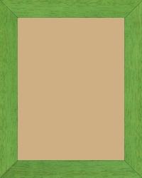 Cadre bois vert — 15 x 20