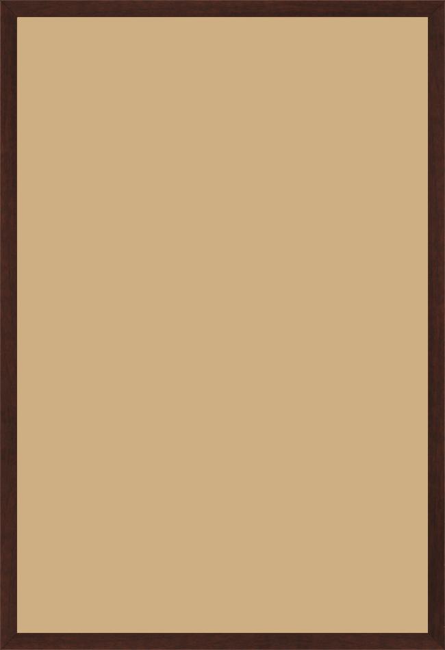 Cadre bois marron tons bois 60x90 pas cher. Cadre photo bois marron ...