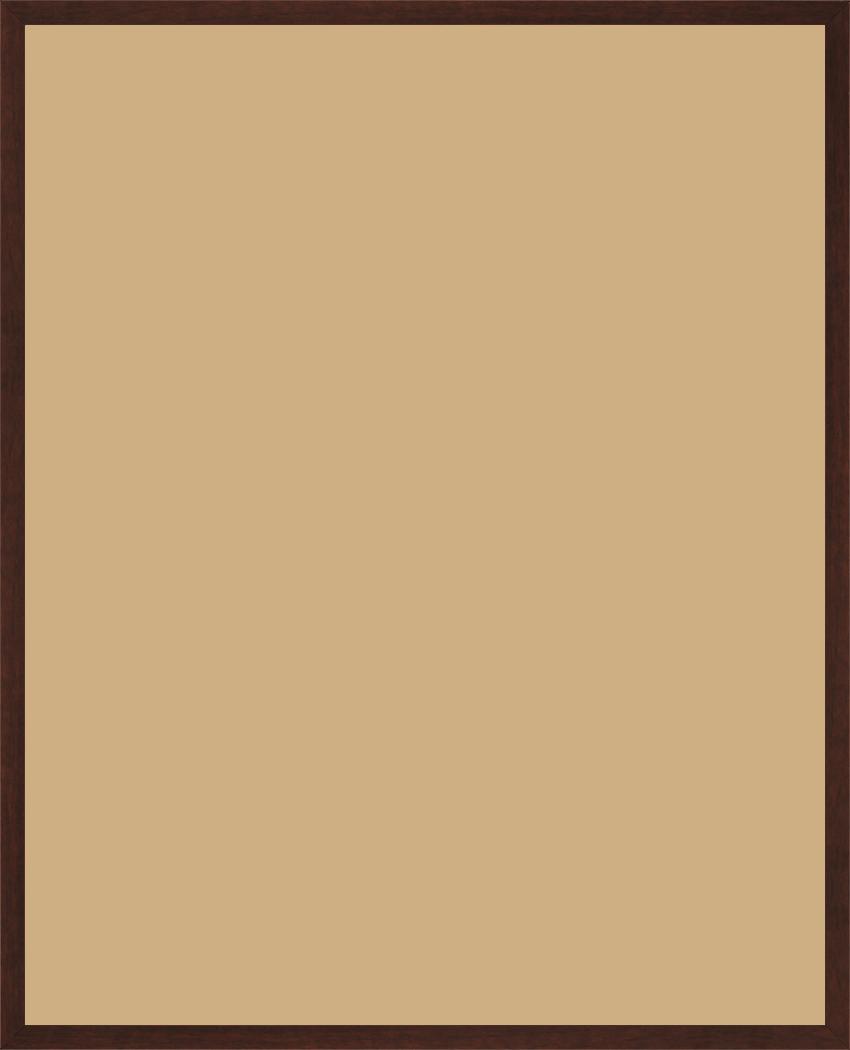 Cadre bois marron tons bois 80x100 pas cher cadre photo - Cadre 80 x 120 ...