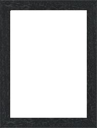 Cadre pour peinture pour peinture bois noir — 15 x 21