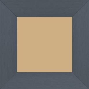 Cadre bois profil plat largeur 5.9cm couleur gris foncé satiné - 50x60