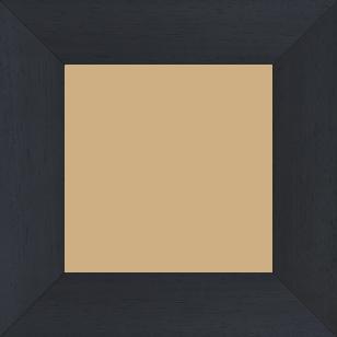 Cadre bois profil plat largeur 5.9cm couleur noir satiné - 52x150