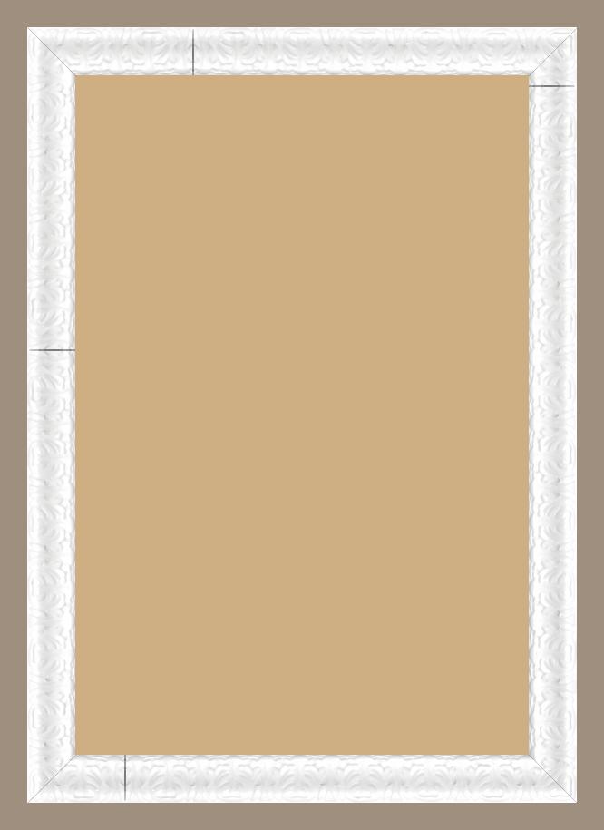 cadre bois blanc 50x75 pas cher cadre photo bois blanc. Black Bedroom Furniture Sets. Home Design Ideas