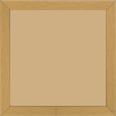 Cadre bois profil plat largeur 2cm ayous massif naturel - 40x40