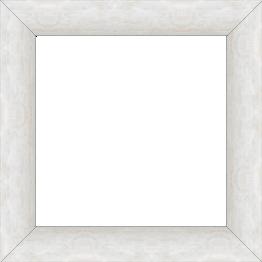 Cadre bois profil plat largeur 3.6cm argent chaud effet cube - 61x46