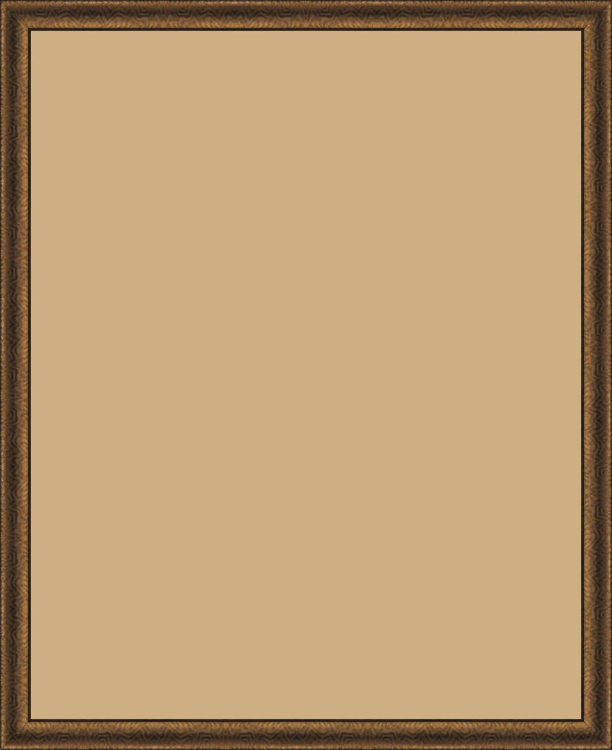Cadre  bois cuivre — 80 x 100
