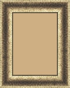 Cadre  bois cuivre — 15 x 21