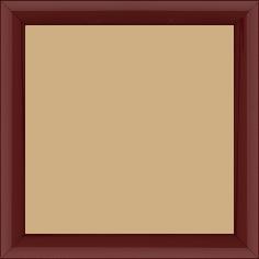 Cadre bois profil méplat largeur 2.3cm couleur bordeaux laqué - 15x20