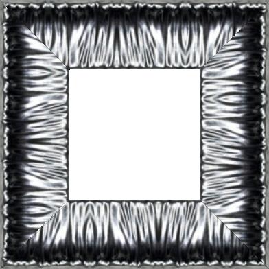 Cadre bois profil incurvé largeur 10.1cm plombs effet plissé - 61x46