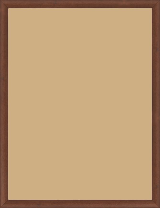 cadre bois marron tons bois 60x80 pas cher cadre photo bois marron tons bois 60x80 destock cadre. Black Bedroom Furniture Sets. Home Design Ideas