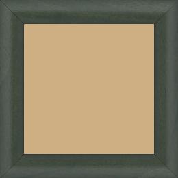 Cadre bois profil arrondi largeur 3.5cm couleur vert sapin satiné - 59.4x84.1