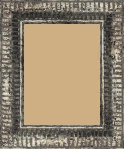 Cadre  bois argent — 15 x 20