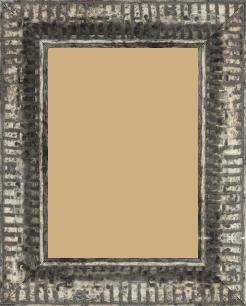 Cadre  bois argent — 15 x 21