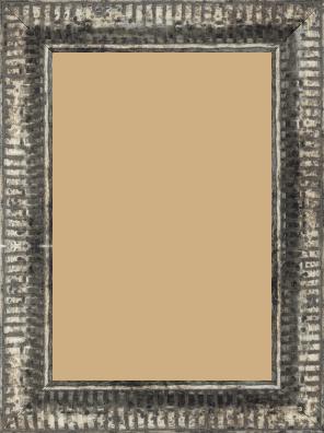 Cadre  bois argent — 20 x 30