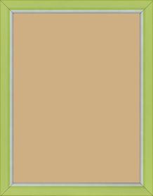 Cadre bois vert — 18 x 24