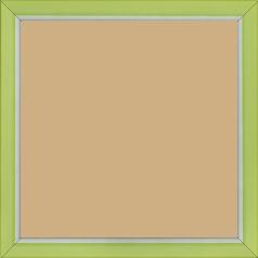 Cadre bois vert — 20 x 20