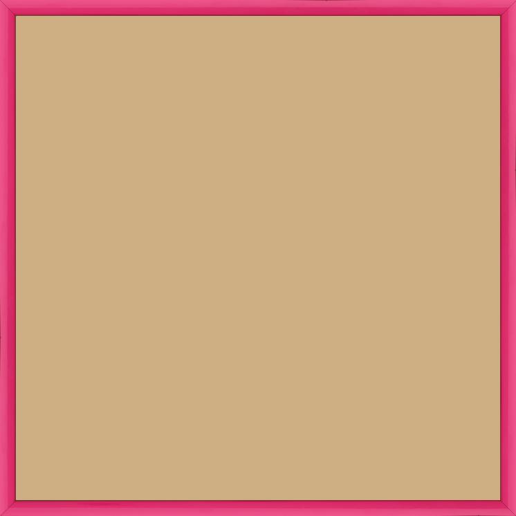 Cadre Couleur Profil Plat Ou En Pente Rose Ou Rose Fushia 70x70 Pas