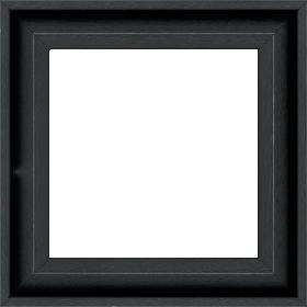 Caisse bois caisse américaine largeur 4.5cm noir satiné (spécialement concu pour les supports rigides ne necessitant pas de protection verre : aluminium, dibon , pvc etc...le sujet se colle sur le nez de feuillure du cadre ) profil en u - 15x20