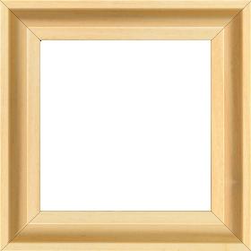 Caisse bois caisse américaine largeur 4.5cm naturel satiné (spécialement concu pour les supports rigides ne necessitant pas de protection verre : aluminium, dibon , pvc etc...le sujet se colle sur le nez de feuillure du cadre ) profil en u - 15x20