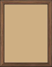 Cadre  bois cuivre — 15 x 20
