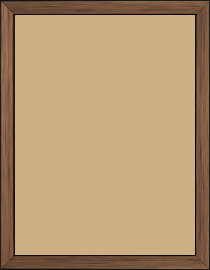 Cadre  bois cuivre — 18 x 24
