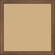 Cadre  bois cuivre — 20 x 20