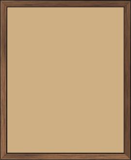 Cadre  bois cuivre — 24 x 30