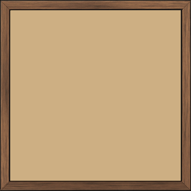 Cadre  bois cuivre — 25 x 25