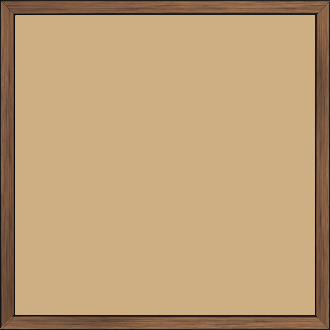 Cadre  bois cuivre — 30 x 30