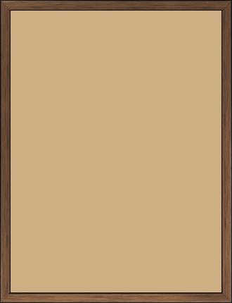 Cadre  bois cuivre — 30 x 40