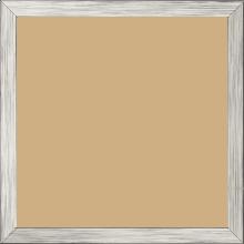 Cadre bois profil plat largeur 1.5cm couleur argent - 21x29.7