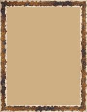 Cadre bois bleu — 15 x 20
