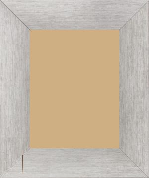Cadre  bois argent — 18 x 24