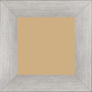 Cadre  bois argent — 20 x 20