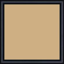 Cadre bois profil demi rond largeur 1.5cm couleur noir mat - 21x29.7