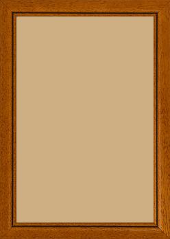 Cadre bois marron tons bois — 20 x 30