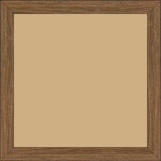 Cadre bois profil plat largeur 2cm décor bois chêne doré - 24x30