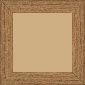 Cadre bois profil plat largeur 4.2cm décor bois chêne doré - 84.1x118.9